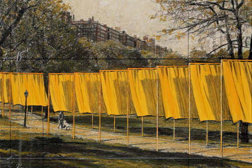 Preview: Credit Suisse Christo The Gates