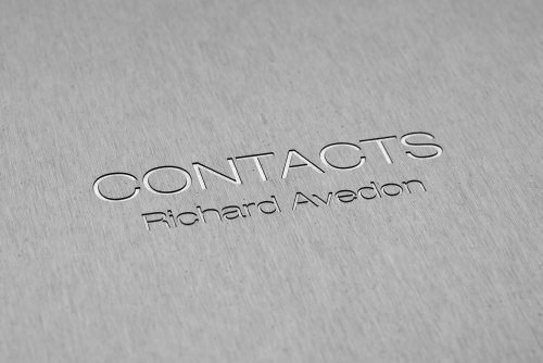 Project: Contacts – Richard Avedon